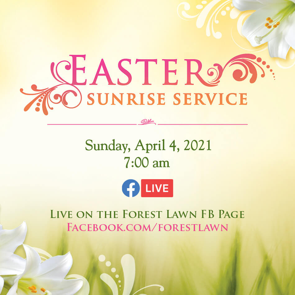 Forest Lawn Easter Event