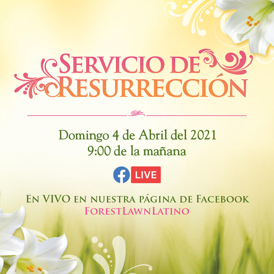 Forest Lawn Easter Event Spanish